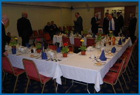 "A typical Lodge Meeting will be folowed by a ""Festive Board"" meal together"
